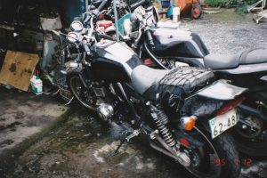 160Kmのスピードから転倒したバイク事故
